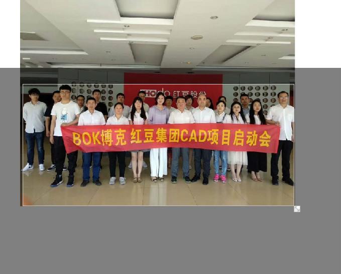 【喜讯】深圳BOK博克&红豆集团CAD项目启动会